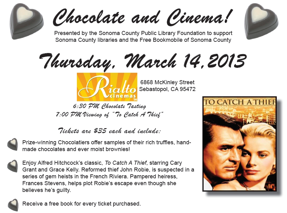 Chocolate and Cinema Flyer