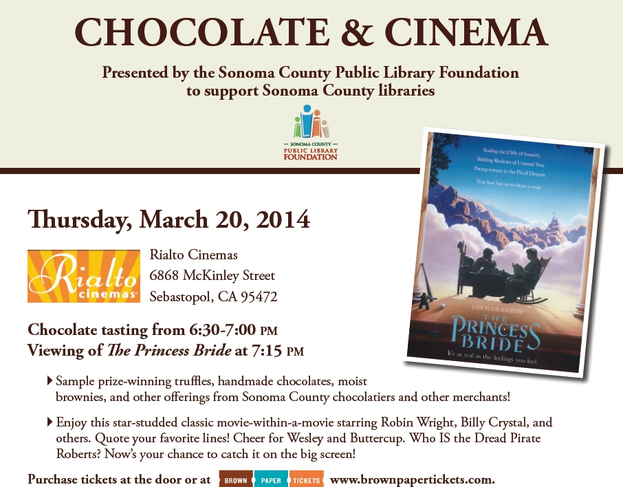 Chocolate & Cinema 2014