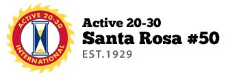 Active 20-30 Club #50 of Santa Rosa