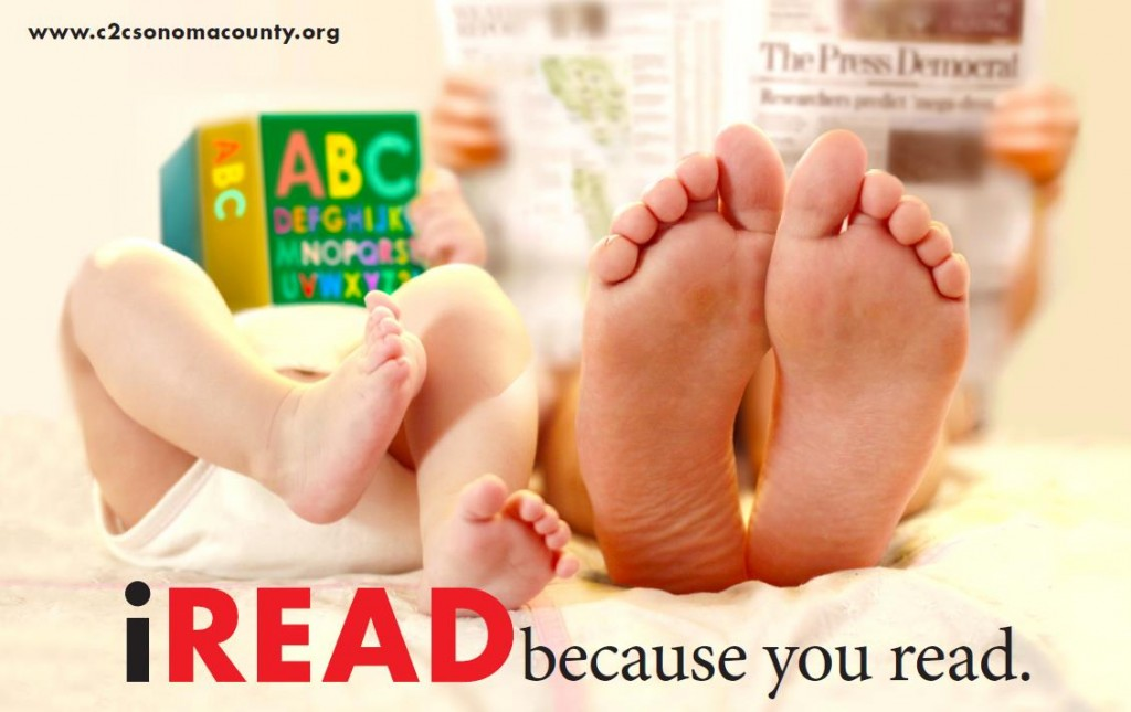 iREAD Feet Poster